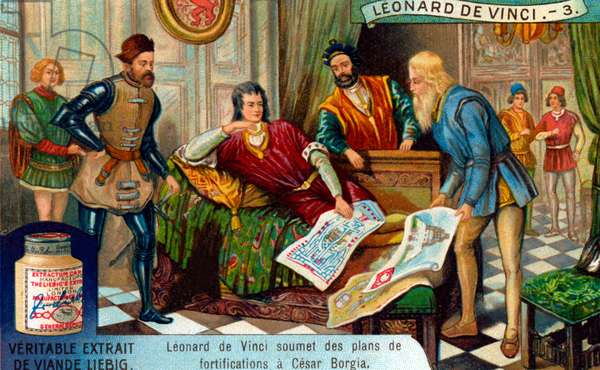 The Life of Leonardo da Vinci: Military engineer