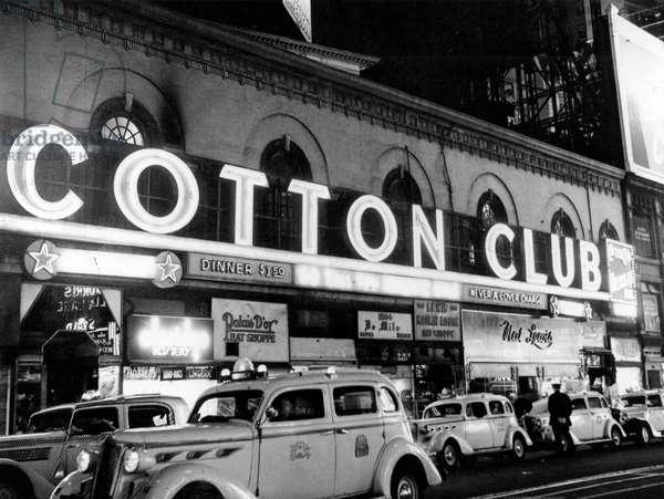 Harlem Cotton Club New