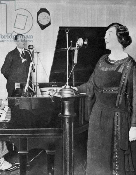 1st birthday of radio broadcasting