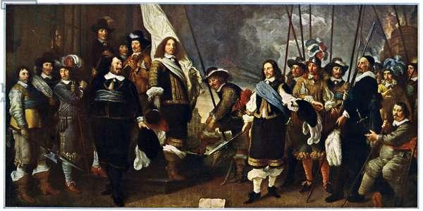 Celebration at Amsterdam of Westphalian Peace