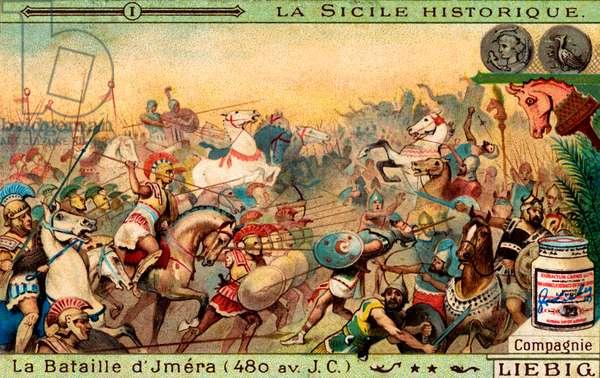 History of Sicily: Battle of Himera, 480 BC