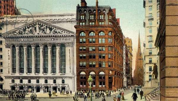 Stock Exchange and Wall