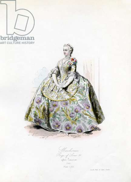A Marchioness during the reign of Louis XV