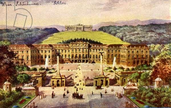 Schönbrunn Palace (Schloss), Vienna, Austria