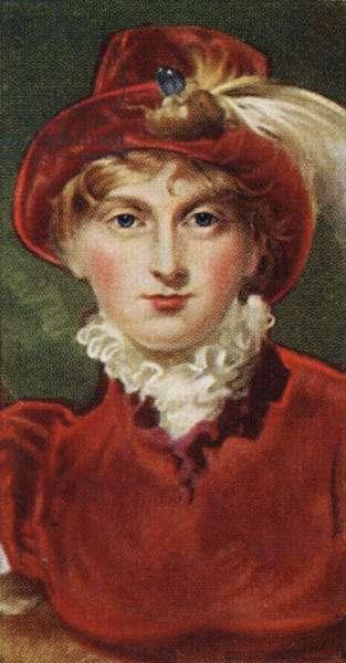 Portrait of Caroline of Brunswick (engraving)