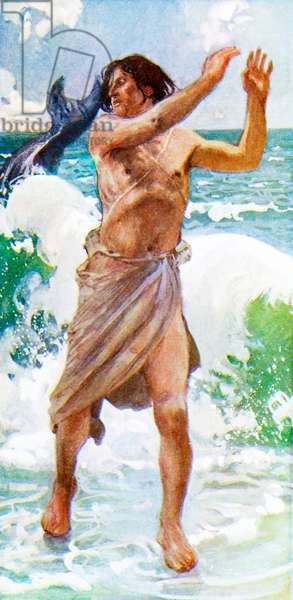 Jonah by J James Tissot - Bible