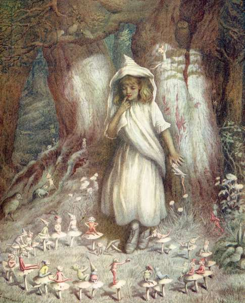 'The elf ring' by Kate Greenaway.