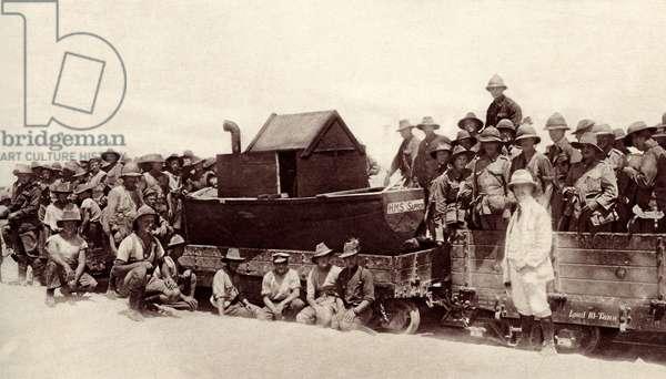 World War 1: 'Anzac Day' on the Suez Canal, Egypt