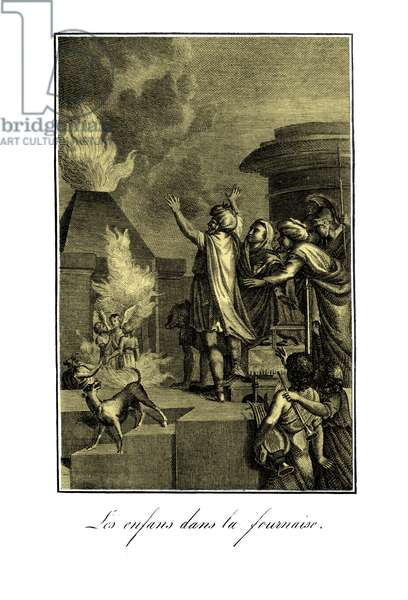 Shadrach, Meshach and Abednego survive  - Bible
