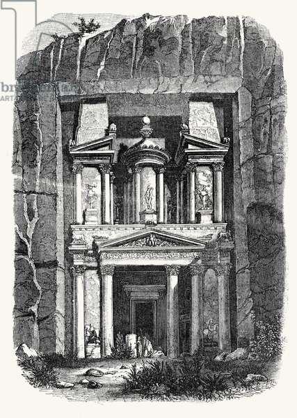 Temple at Petra