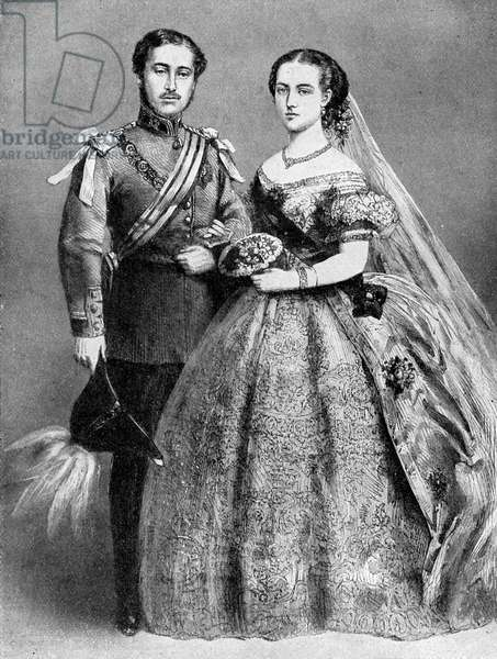 Prince of Wales and  Alexandra of Denmark