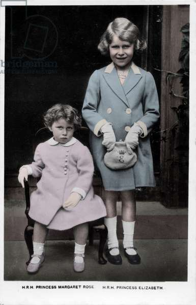 Princess Margaret and Princess Elizabeth, 1934