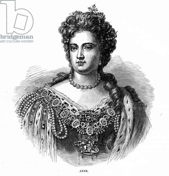 Queen Anne, 1705