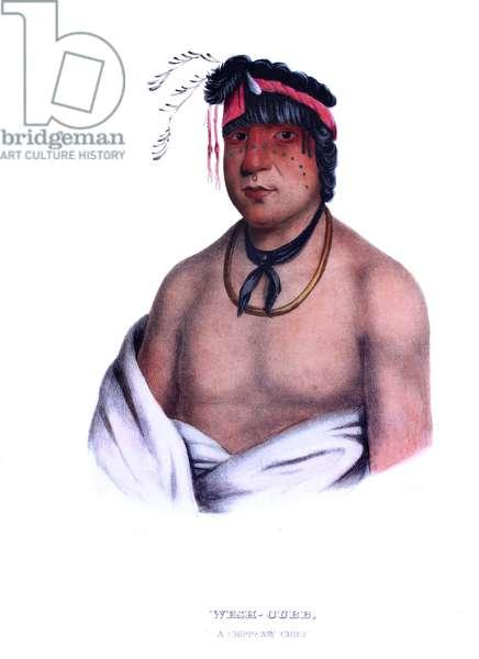 Weshcubb ('The Sweet'), a Chippeway chief