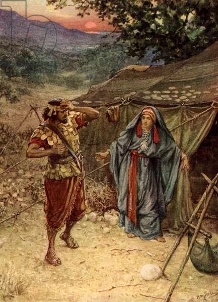 Jael / Yael and Sisera - Bible