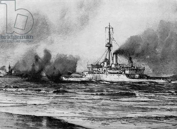 World War I- Belgian sea battle