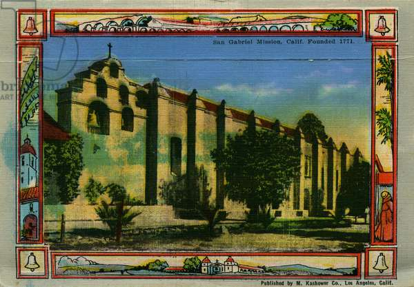 California: San Gabriel Mission