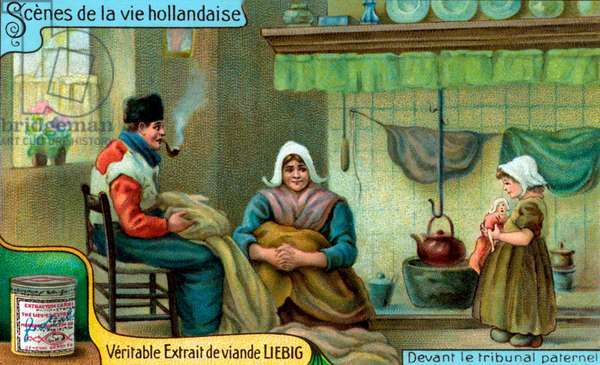 Scenes of Dutch Life:  Parental court