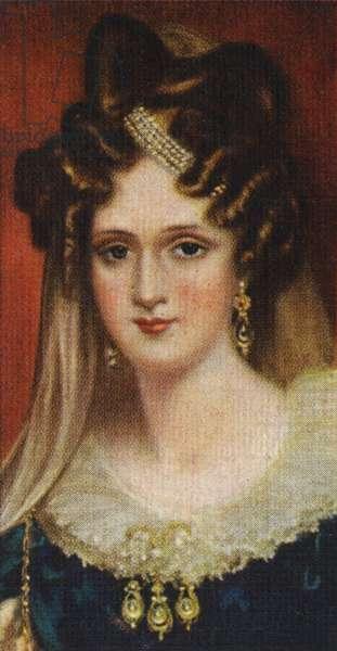 Adelaide of Saxe - Meinegen portrait