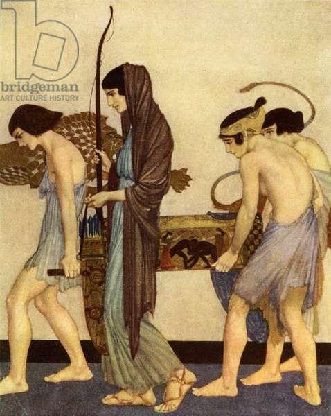 Odyssey of Homer - Book XXI / 21