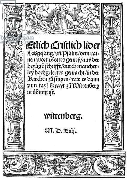First Lutheran Hymnal