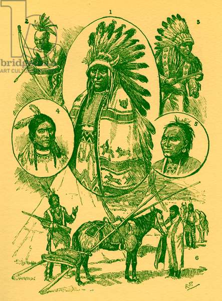American Indians in 19th century