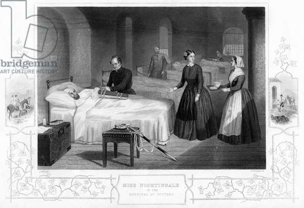 Florence Nightingale in the Hospital at Scutari