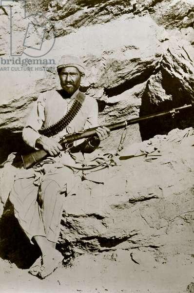 Afridi tribesman, Khyber Pass