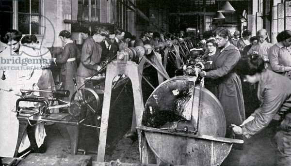 Munitions Workers during World War 1