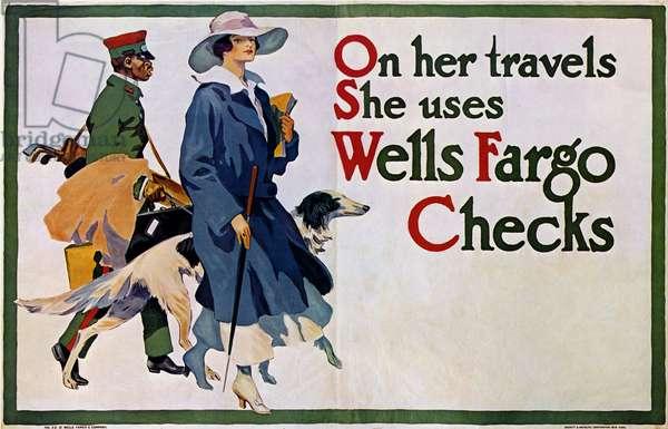 Wells Fargo advertisement 1917