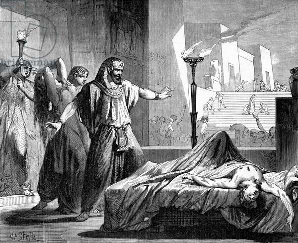 Death of the firstborn of Egypt - Bible