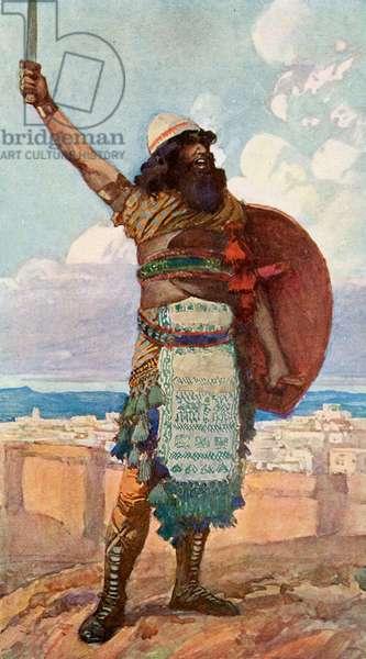 Othniel by J James Tissot - Bible