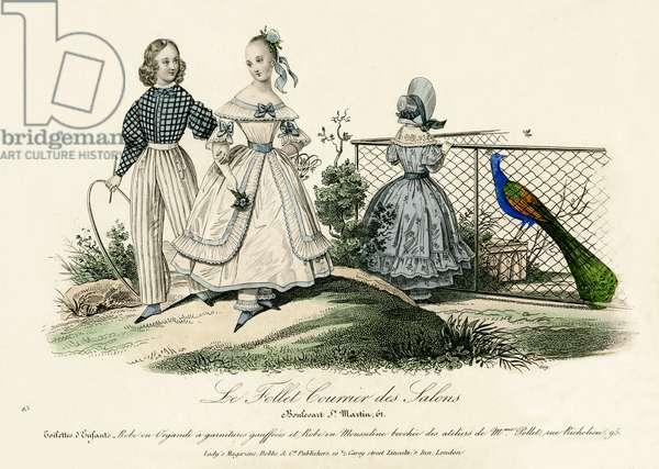Children's fashion, 19th century