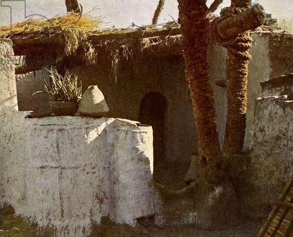 A Fellahin's domicile, Egypt.