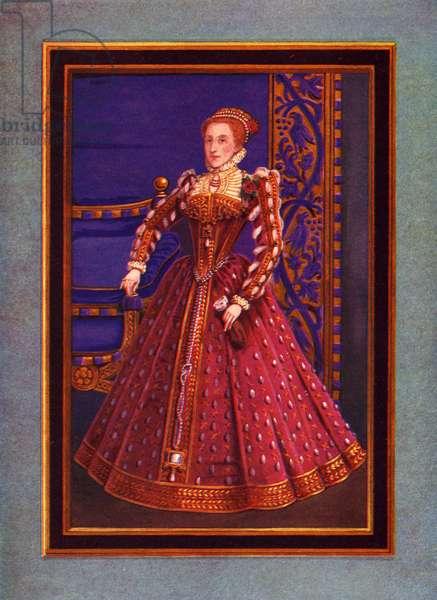 Queen Elizabeth I, 1570