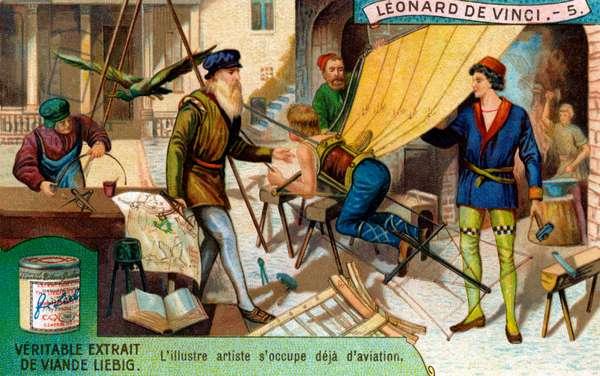 The Life of Leonardo da Vinci: Aviation