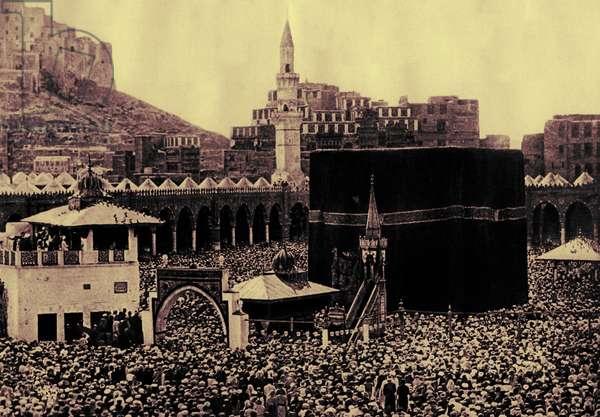 Pilgrims at the Kaaba