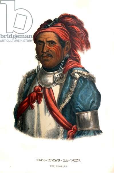 Tenskwautawaw, or 'the prophet'