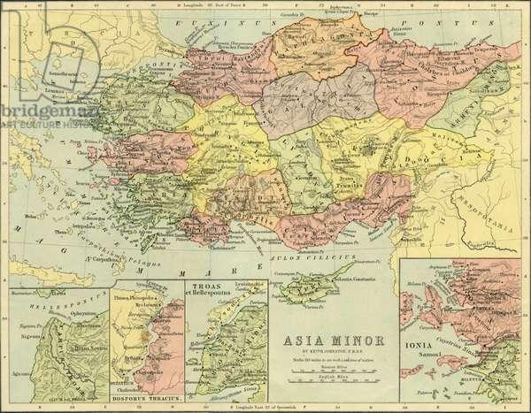 Map of Roman Asia Minor