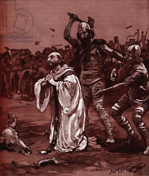 Martyrdom of Ælfheah of Canterbury