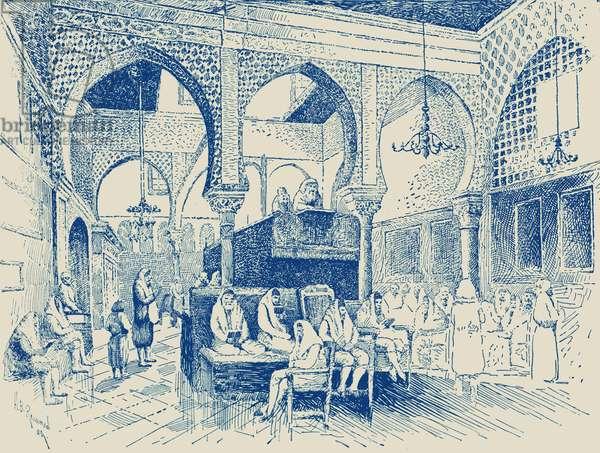 Synagogue interior, Algiers