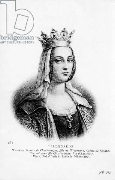 Hildegarde of Vinzgouw - portrait