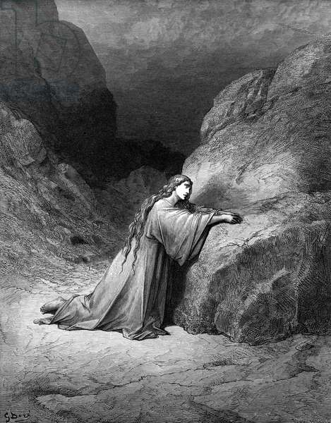 Mary Magdalene, the repentant sinner - Bible