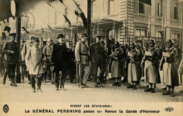General Pershing 's arival in Paris