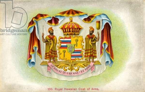 Royal coat of arms, Hawaii