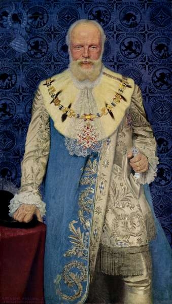 Ludwig III (1845-1921), last King of Bavaria, reigning from 1913 to 1918