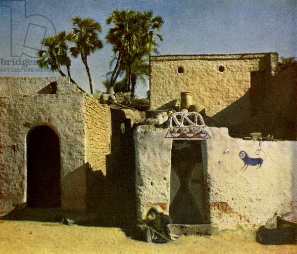 Nubian house on Elephantine Island