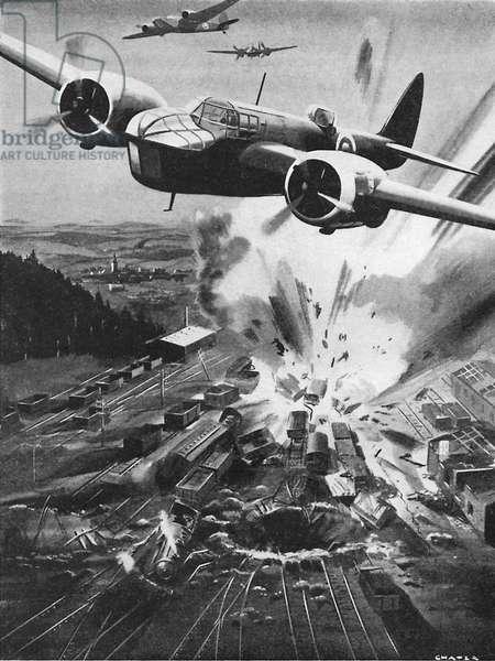 WW2 - Bristol Blenheim bombers