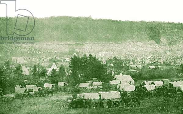 Army of the Potomac Encampment - American Civil War