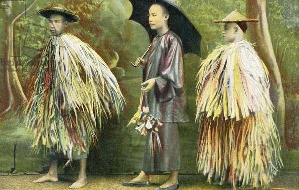 Chinese rain wear